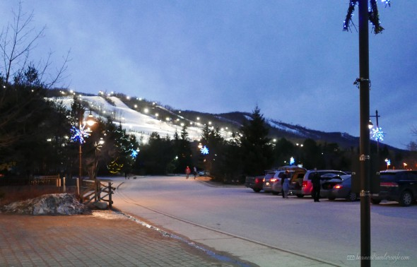 Winter Activities at Blue Mountain Resort Skiing