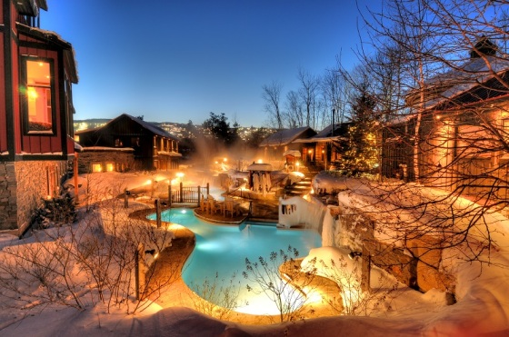 Winter Activities at Blue Mountain Scandinave Spa