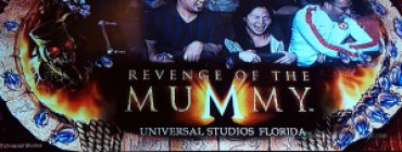 visiting universal studios orlando Revenge of the Mummy