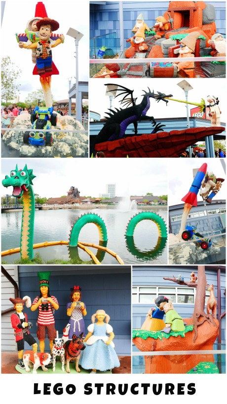 what to do in Disney Springs - Lego Display