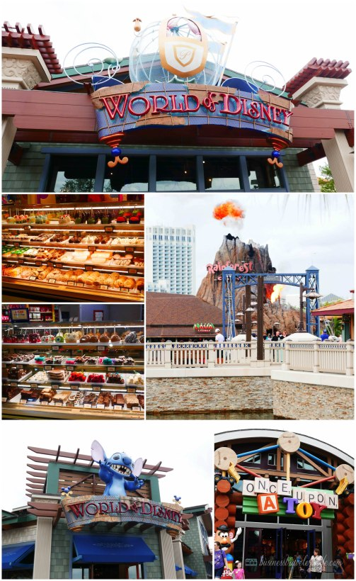 what to do in Disney Springs - Disney Shops