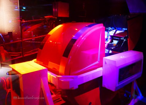what to do in Disney Springs - Disney Quest Interactive Adventures CyberSpace Mountain build your own rollercoaster