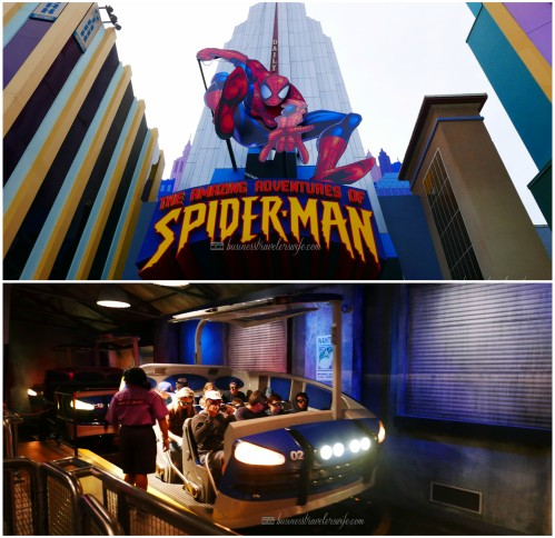visiting universal orlando: islands of adventure - Spiderman