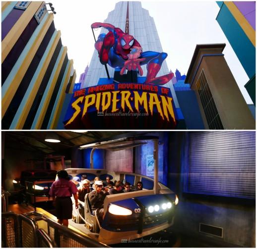 visiting universal studios orlando Spiderman